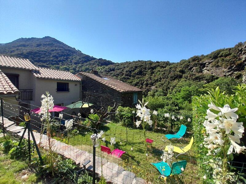 La fontchaude Cabrespine, holiday rental in Miraval-Cabardes