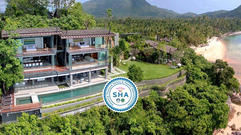 [30% OFF] The View Samui Cliffside Stylish Getaway w/ Gym, alquiler vacacional en Taling Ngam