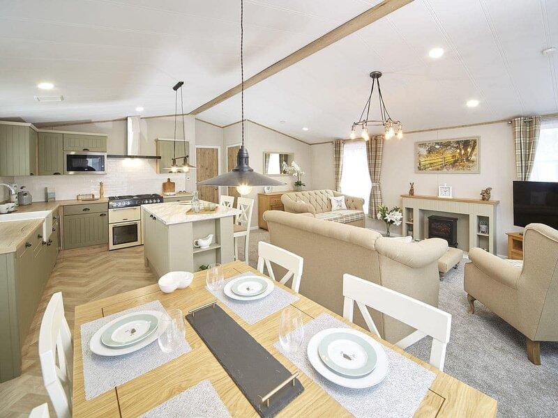 Snittlegarth Luxury Lodge Five-UK35662, holiday rental in Mealsgate
