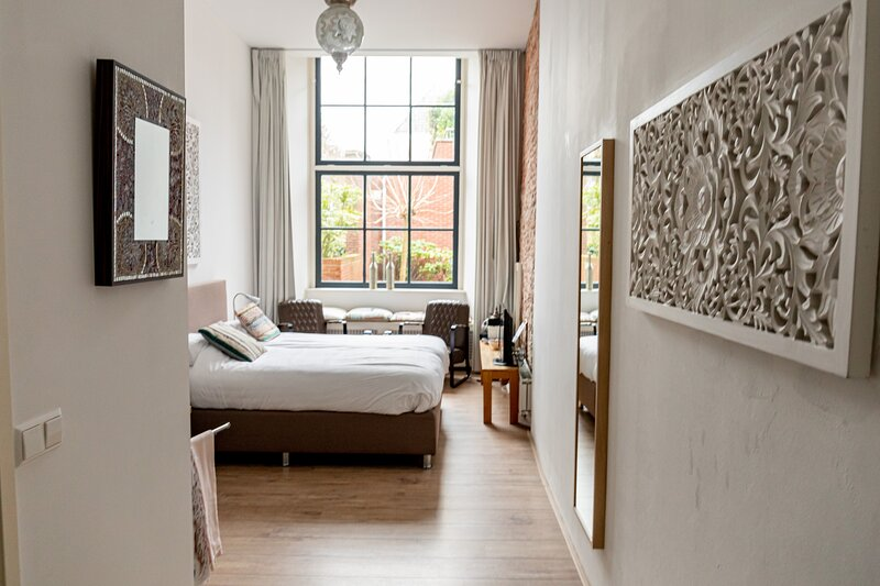 B&B 1001 Nacht: Double King's Room 2, aluguéis de temporada em Haarlem