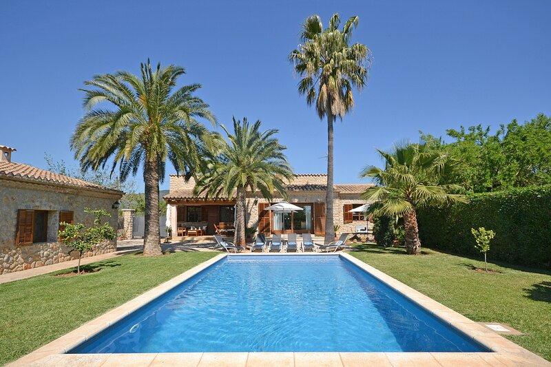 POU NOU - Country house with swimming pool for 6 people in Inca, aluguéis de temporada em Inca