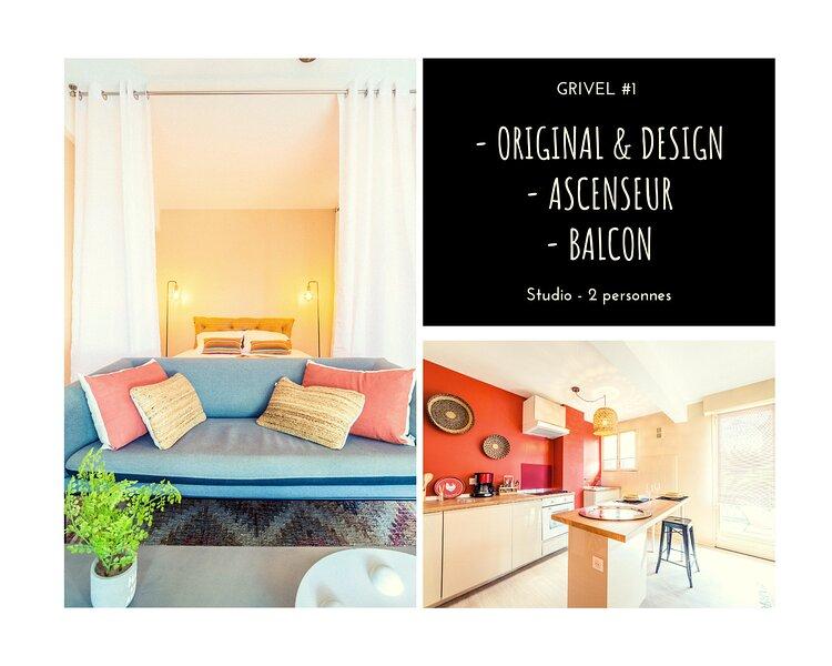 GRIVEL #1 - Studio avec balcon - 1 Chambre – semesterbostad i Donzenac