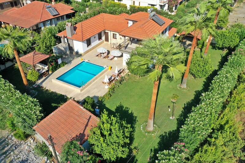 Dalyan holiday villa rental with private pool, holiday rental in Ortaca
