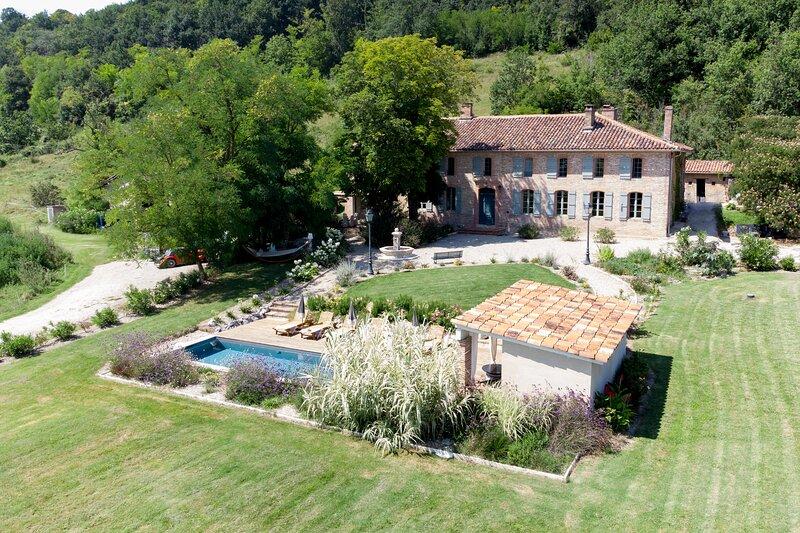 Belle maison de maître campagnarde, vacation rental in Moissac