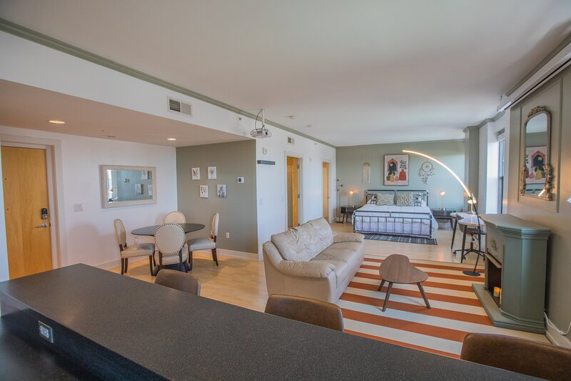 Designer Downtown Condo Suite - Splendid View, holiday rental in Ankeny