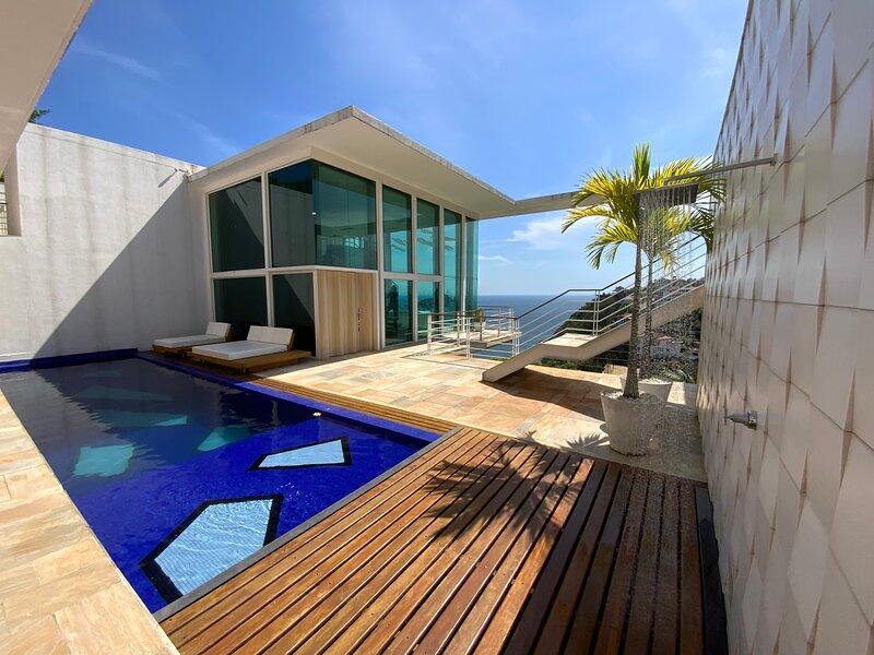 Casa dos Sonhos Joá 03 quartos - #RJ45 Casa para temporada, fotos e publicidade, vacation rental in Marica