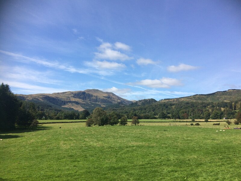 Beautiful views of Ben Ledi on your doorstep or from the balcony,