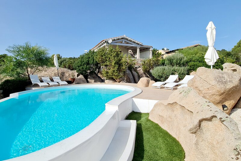 Villa Cala di Luce, vakantiewoning in La Pipara