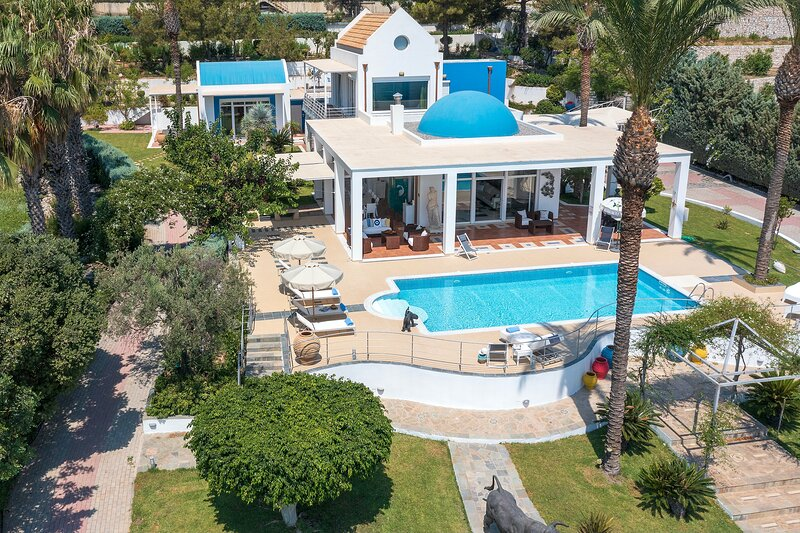 Grande Dame Villa of Rhodes, holiday rental in Rhodes