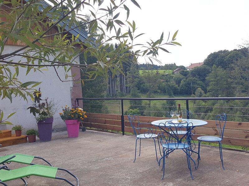 Gîte du Blancfaing, location de vacances à Tendon