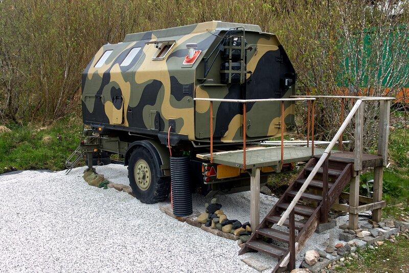 Boris The Military Pod, casa vacanza a Drumbuie