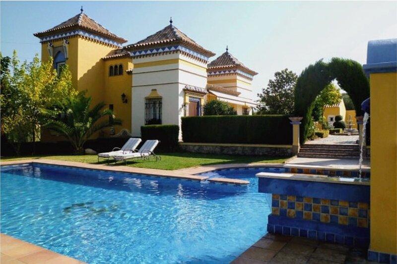 Las Adelfas'Andalusian experience',Villa andaluza cerca de Ronda.Lujosa e ideal. – semesterbostad i Canete La Real