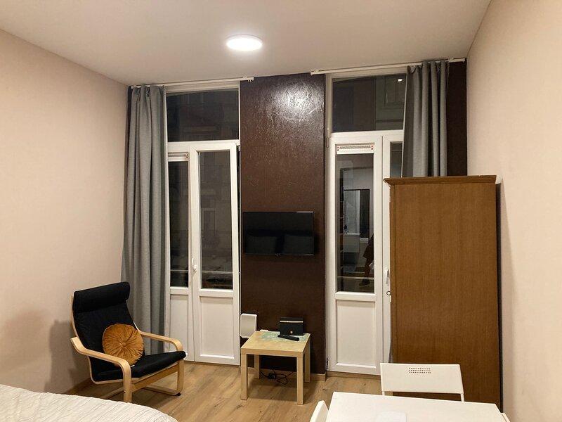 Magnifique studio au 1er étage, très proche de la gare du Midi, holiday rental in Anderlecht