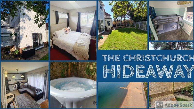 2 bedroom annexe with hot tub near beaches, location de vacances à Mudeford