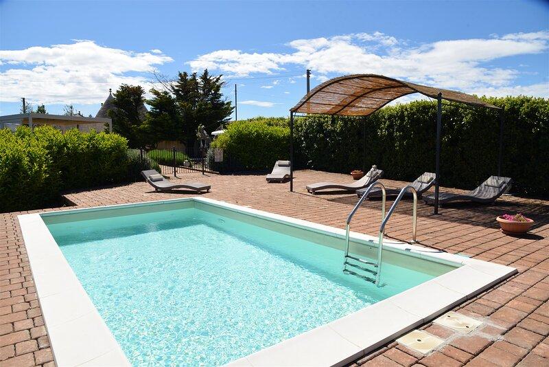 Casa degli Ulivi Private Pool, private Terrace, wifi Garden, aluguéis de temporada em Martina Franca