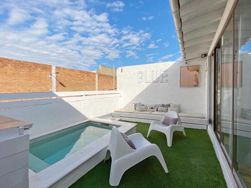 Casa Azul, vakantiewoning in Sant Adria de Besos