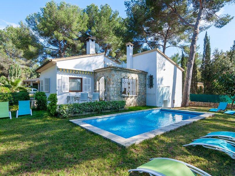 Can Colometa - Fantastic villa with private pool in Bonai, casa vacanza a Mal Pas
