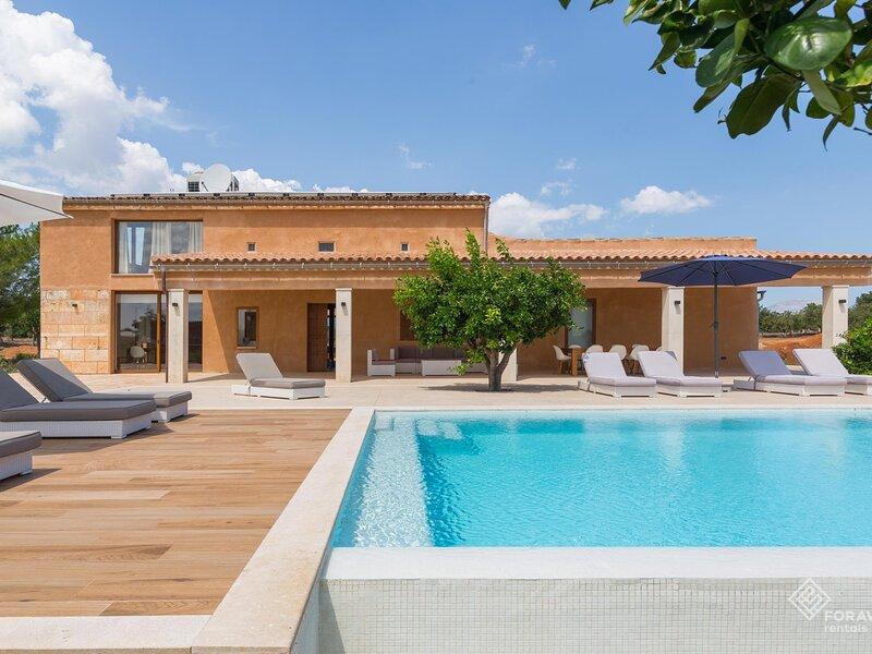 Can Tano - Spectacular villa with pool on the outskirts of Inca, aluguéis de temporada em Inca