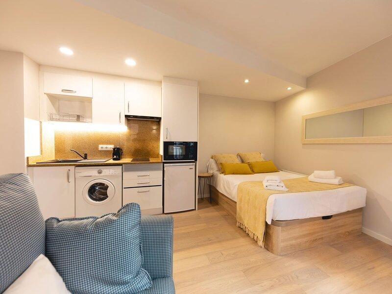 Barca Studio - Loft studio apartment in Girona, holiday rental in Sant Gregori