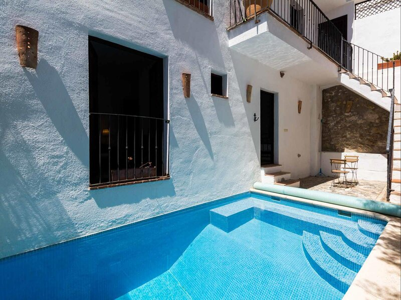 Cozy house with pool and terrace, vacation rental in Villamena