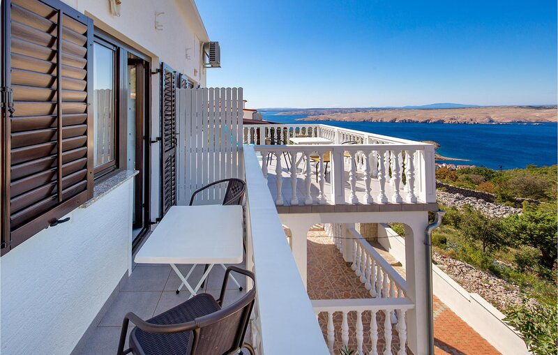 Stunning home in Jablanac with WiFi and 1 Bedrooms (CKV475), holiday rental in Jablanac