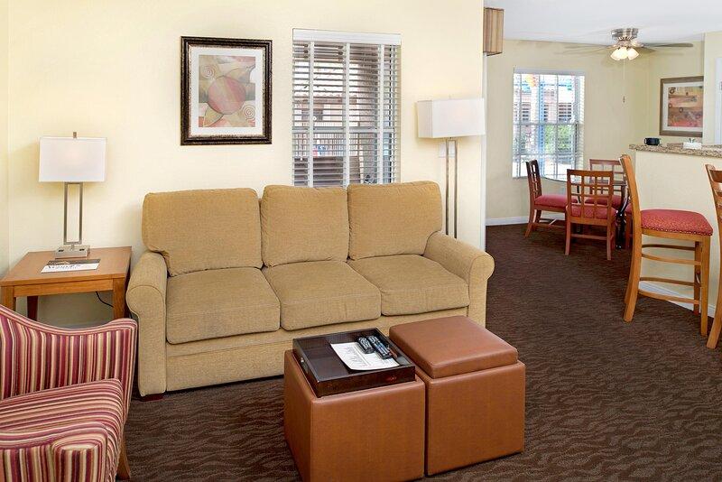 Desert Paradise Resort Living Room