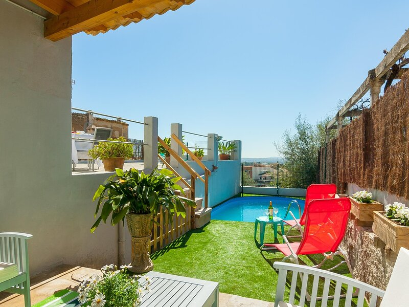 Son Massanet - Townhouse with pool and spectacular views in Campanet, aluguéis de temporada em Campanet