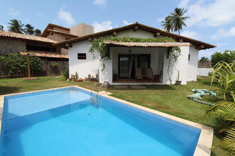 Linda casa no Pontal da Enseada, Rota dos Milagres, aluguéis de temporada em Porto de Pedras