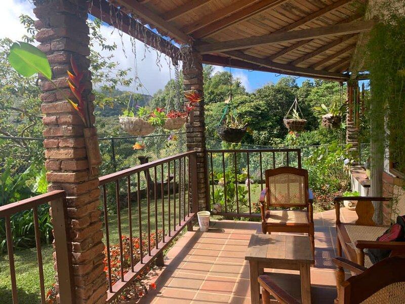 Eco hotel Barlovento en Minca, holiday rental in Los Naranjos