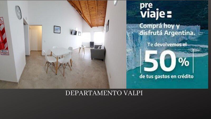 Departamento VALPI, holiday rental in Province of Santa Cruz