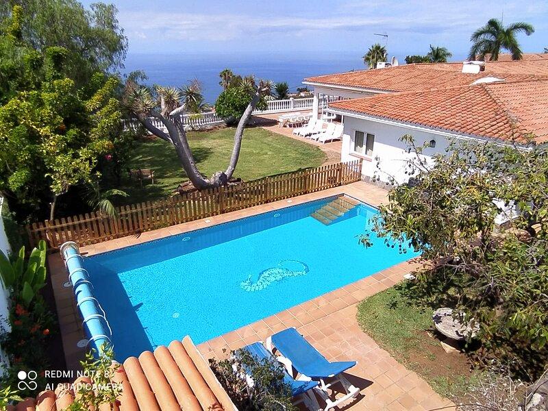 Fully Renovated Luxury Villa with stunning views, holiday rental in Cuesta de la Villa