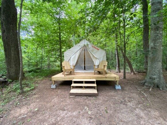 Tentrr Signature Site - The Retreat at Seven Mile Creek, holiday rental in Mebane