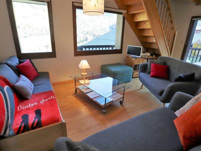 Superbe duplex avec balcon et terrasse orienté sud est – semesterbostad i Areches