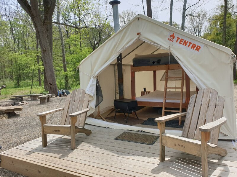 Tentrr Signature Site - Elk Valley Creekside, holiday rental in Conneaut