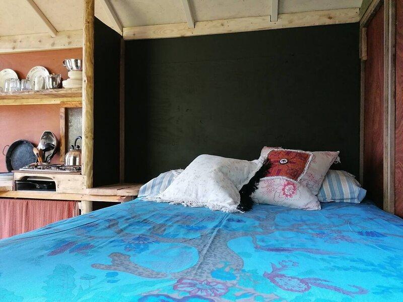 Stargazer Shepherds Hut. A warm and cosy getaway, holiday rental in Washbourne