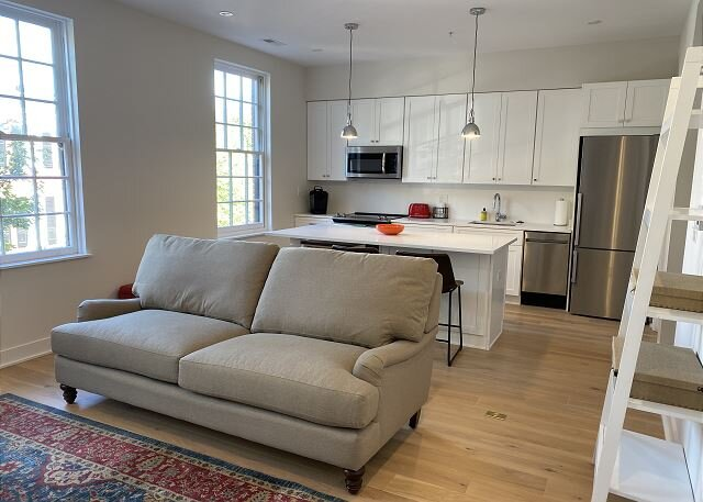 Georgetown, New Boutique Apt in Historic Bldg, 1BR 1BA, (2mo min), vacation rental in Arlington