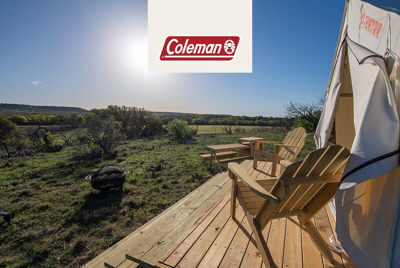 Tentrr Signature Site - Texas 1873 - Coleman Cooking Site, holiday rental in Brownwood