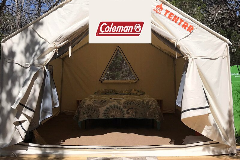Tentrr Signature Site - Camping at The Cedars Ranch - Coleman Outfitted Site, casa vacanza a Fischer