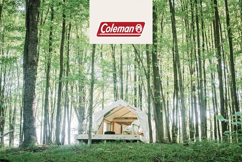 Tentrr Signature Site - Hollow Tree Camp - Coleman Outfitted Site, holiday rental in South Canaan