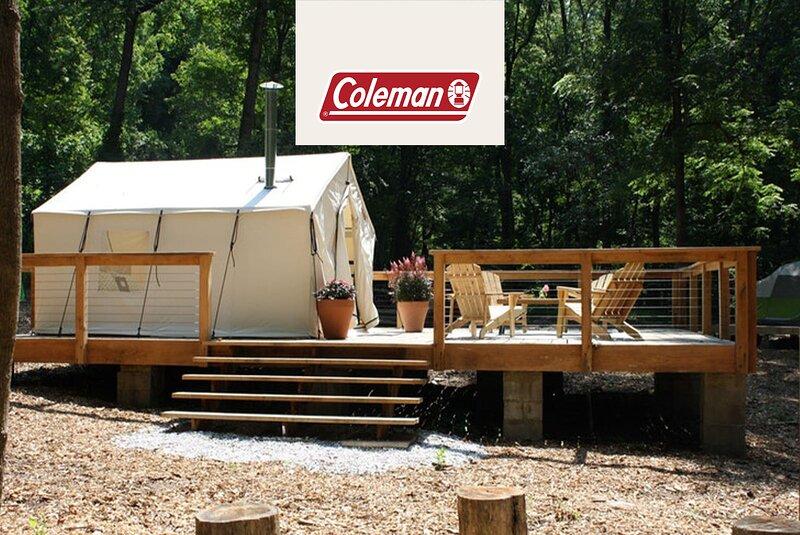 Tentrr Signature Site - Fern Creek at Liberty Lavender Farm - Coleman Cooking, location de vacances à Pikesville
