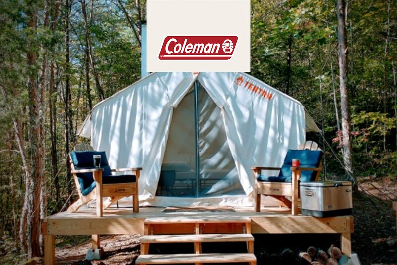Tentrr Signature Site - Olde English Farm Tent 1 - Coleman Cooking Site, holiday rental in Vonore