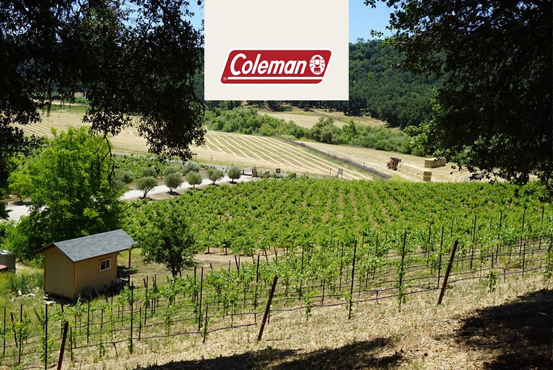 Tentrr Signature Site - Vineyard Glamping - Coleman Outfitted Site, holiday rental in Lake Nacimiento