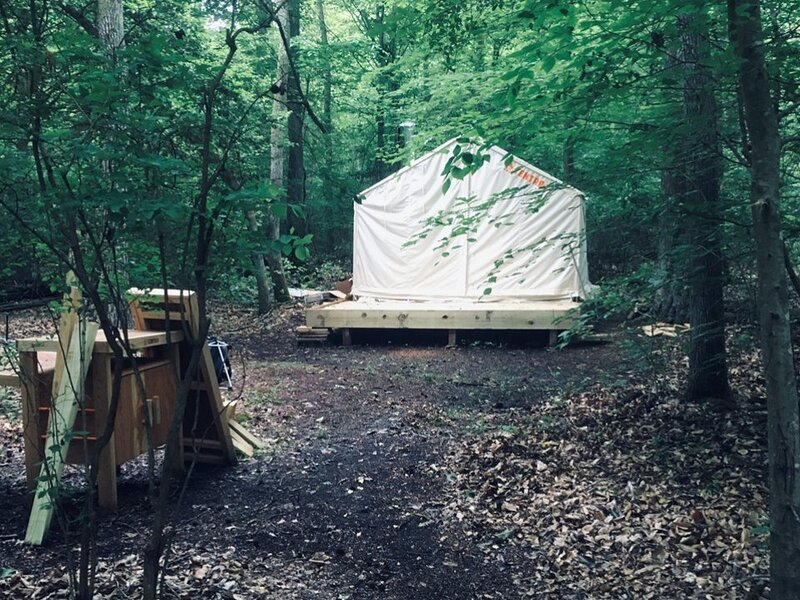 Tentrr Signature Site - Deep Green Forest, holiday rental in Stafford