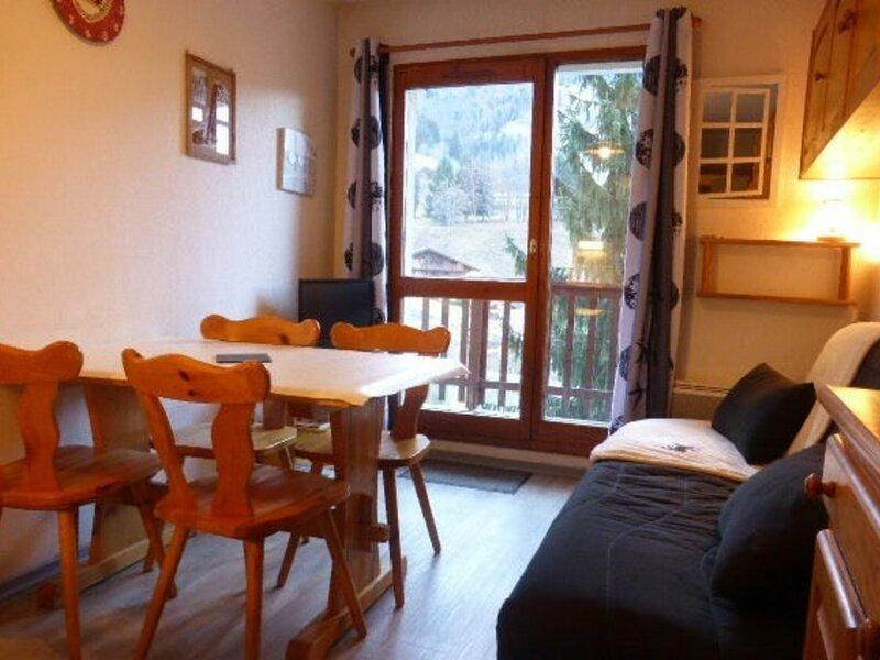 Appartement 4 pers. centre village prox. du départ des pistes, holiday rental in Areches
