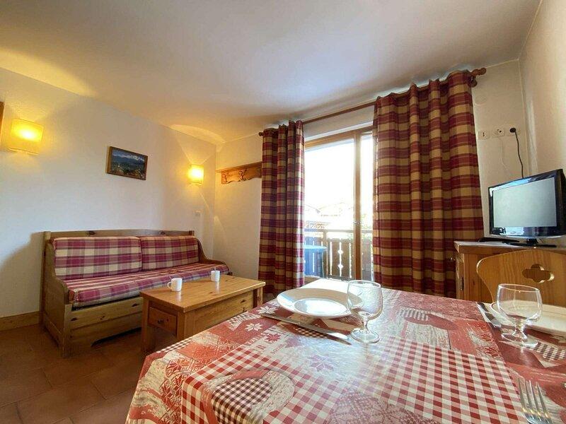 Appartement studio cabine / 4 personnes, location de vacances à Praz Sur Arly
