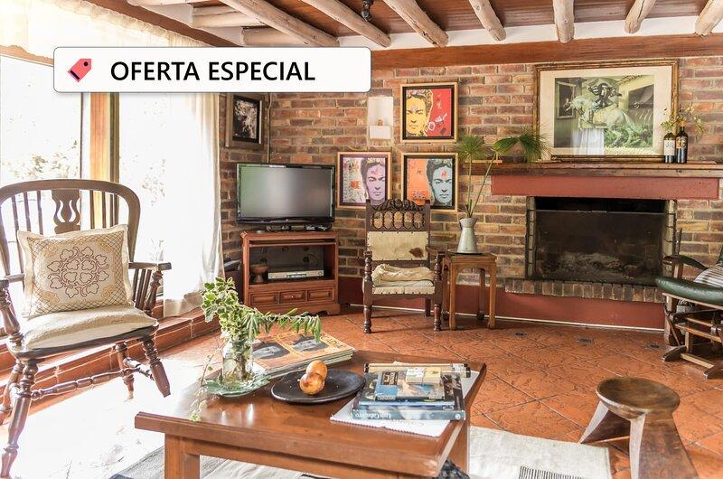 Casa Campestre/BBQ/Parqueadero Privado incluido, location de vacances à Zipaquira