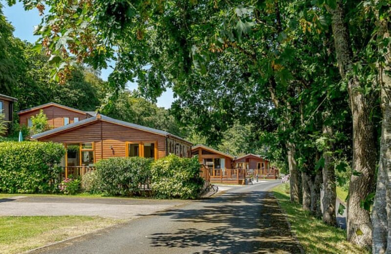 Quiet 3-bedroom countryside chalet in private lodge park., Ferienwohnung in Week St. Mary