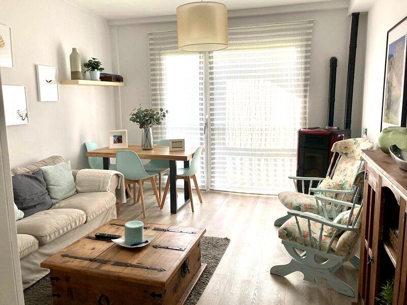 Estupendo apartamento familiar en FORMIGAL CENTRO para 6 pax - Cosy apartment!!, holiday rental in Sallent de Gallego