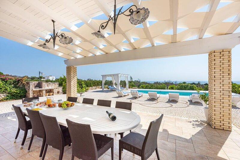 Villa Manuela CAMERA ARGENTO, Relax & Sea, aluguéis de temporada em Marina di Felloniche