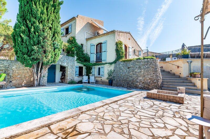 Le Clos du Papoune, private heated pool, wellness, plancha (Drôme/Provence), alquiler de vacaciones en Nyons